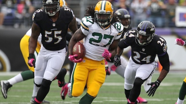 Green Bay's Eddie Lacy named to Pro Bowl selection