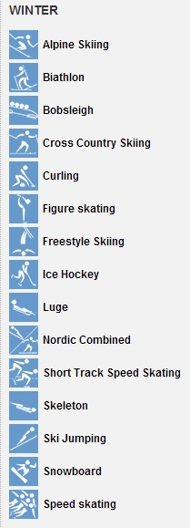 Winter Olympic Events