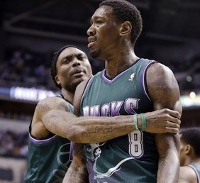 Larry Sanders signed a four-year, $44 million contract last off season.