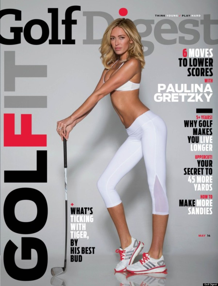 Bikini Golf Digest cover creates confusing controversy