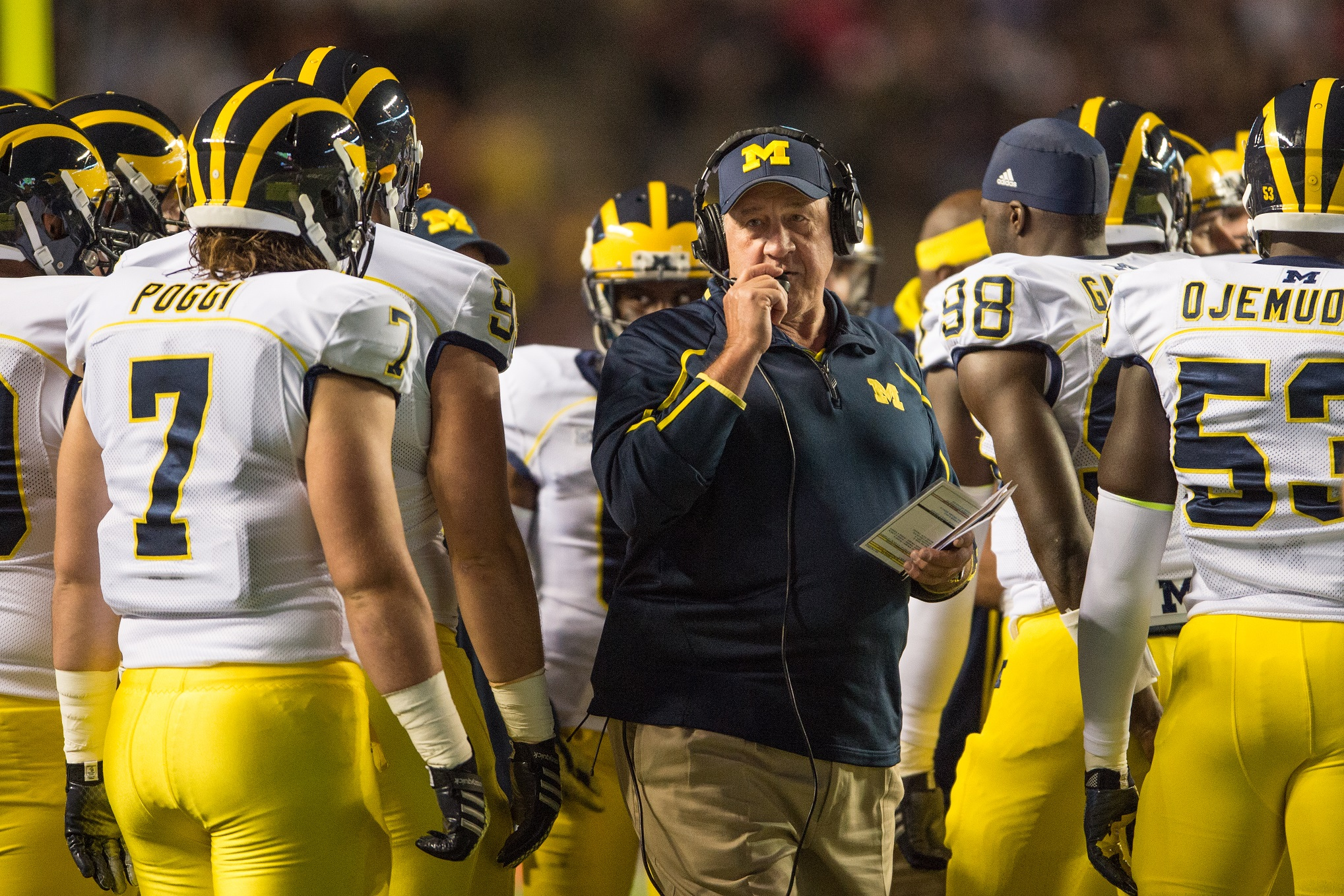 Michigan coach credits career to years at Logan
