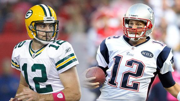 Rodgers-Brady a spicy prime-time matchup in NFL's Week 9