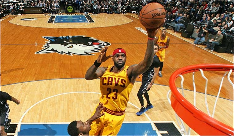 LeBron ruins Wiggins' house party