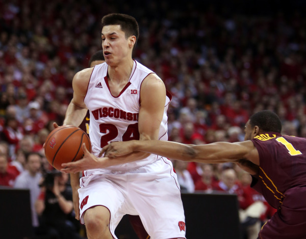 Koenig, another career high; Badgers, another win