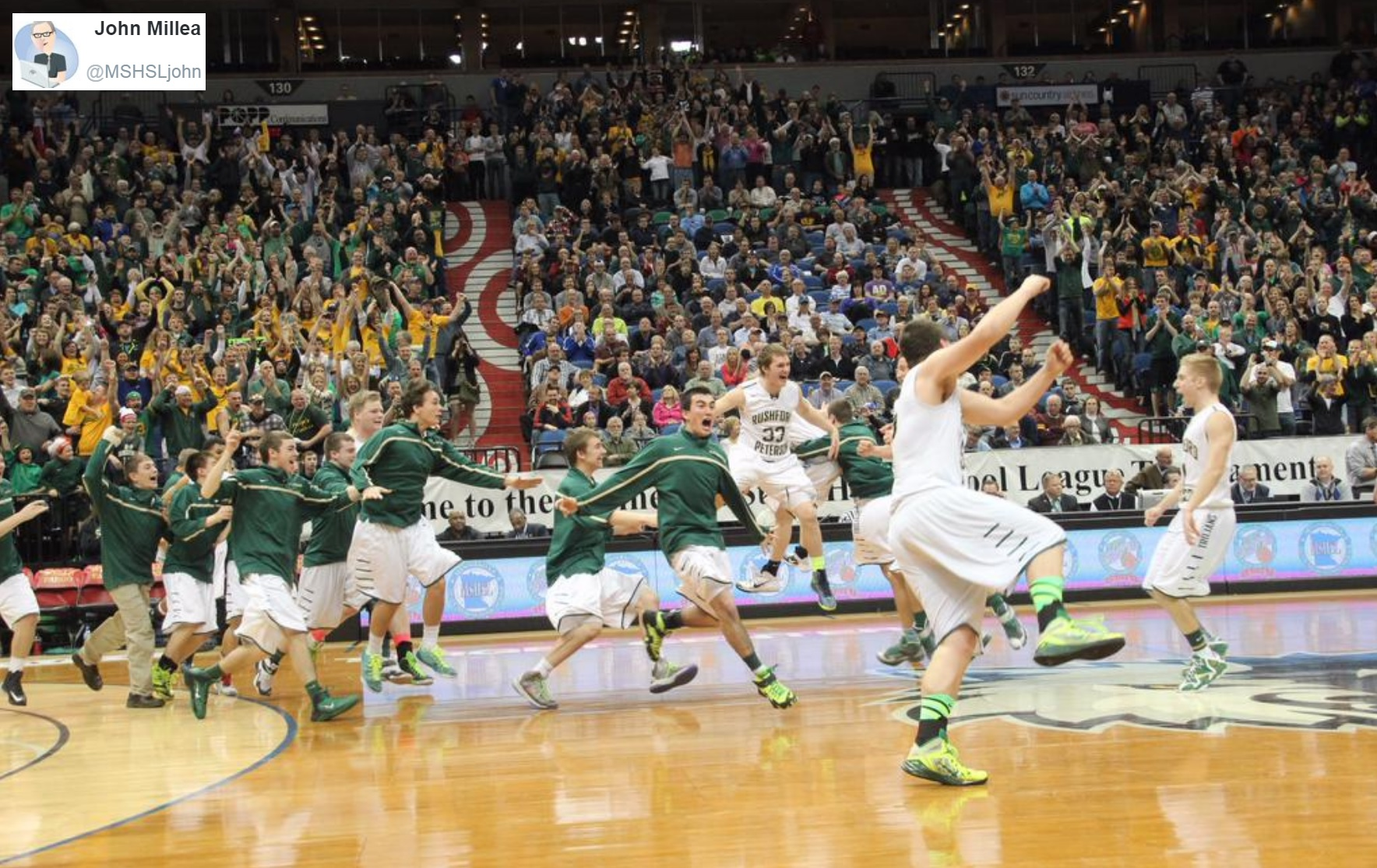 Rushford-Peterson is bringing home another state title