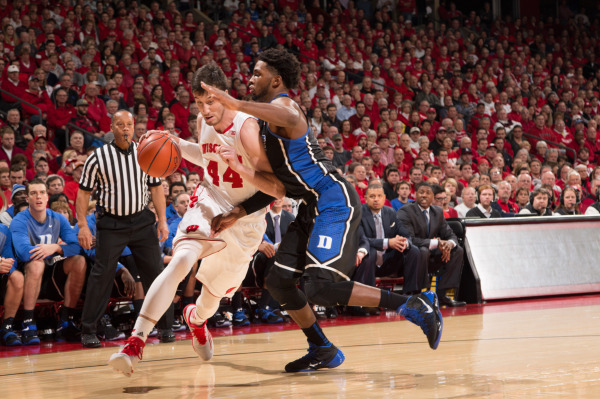 Badgers can't keep up with Duke