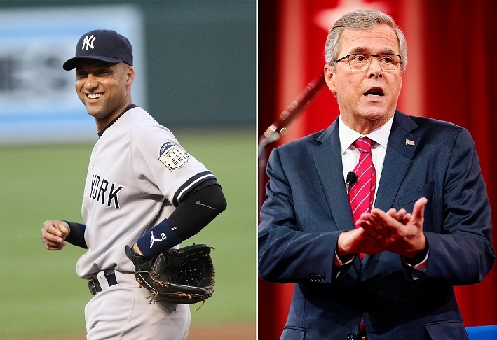 Jeter, Bush join forces in bid to buy Marlins