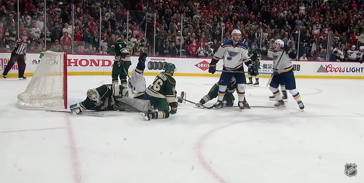 NHL PLAYOFFS: Wild lose at home in OT with just 2:12 left in period