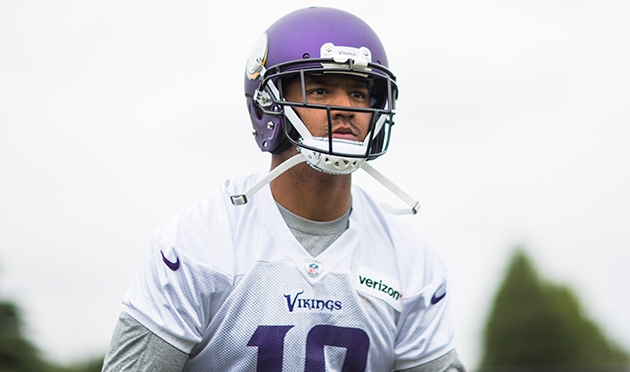 Vikings WR Floyd flagged by police for failed alcohol tests