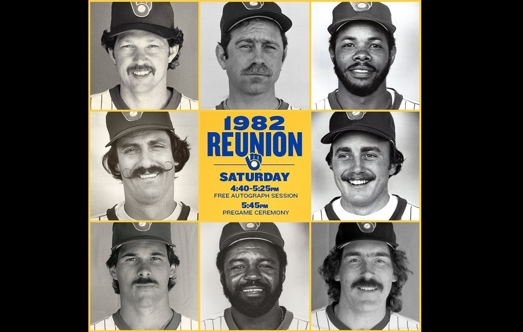 Brewers celebrating 35th anniversary of 1982 AL championship this weekend