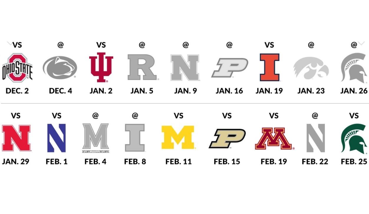 Badgers hoops schedule released