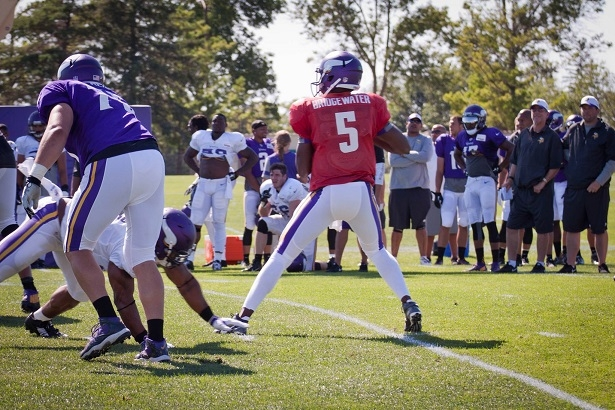 Zimmer says Vikings prefer to keep 3 QBs on active roster