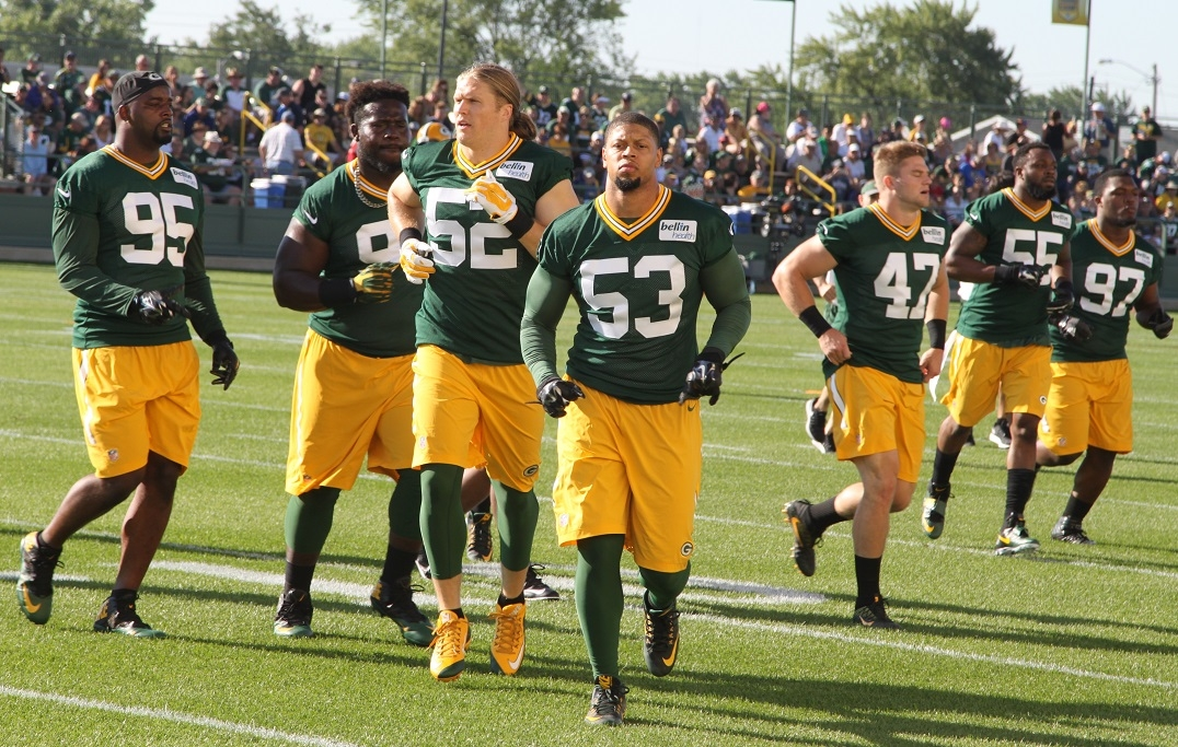 Packers looking for depth behind Matthews, Perry at OLB