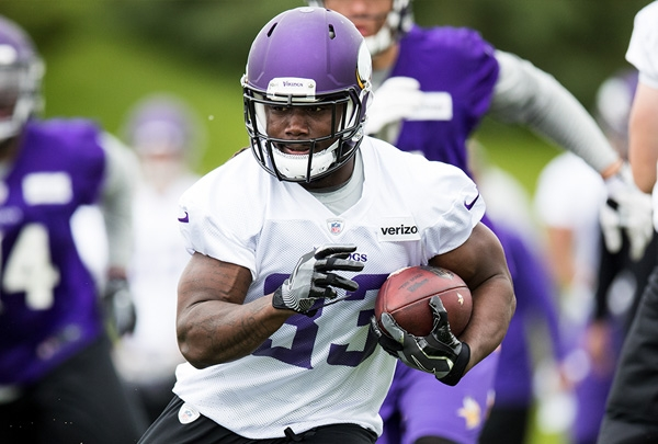 Cook upstages Peterson as Vikings turn the page at RB