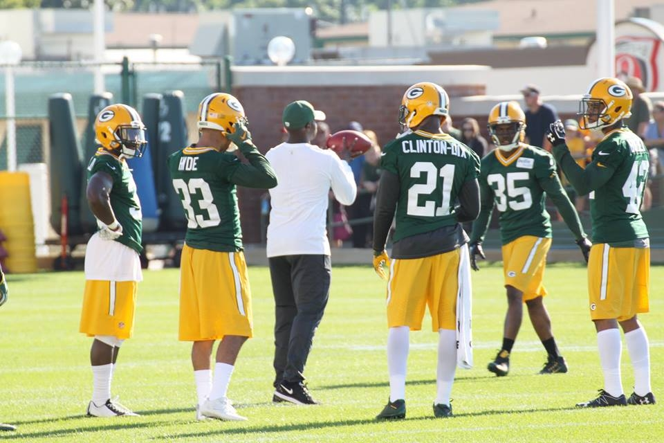 Packers, safety Ha Ha Clinton-Dix, Dial up 'Bama connection
