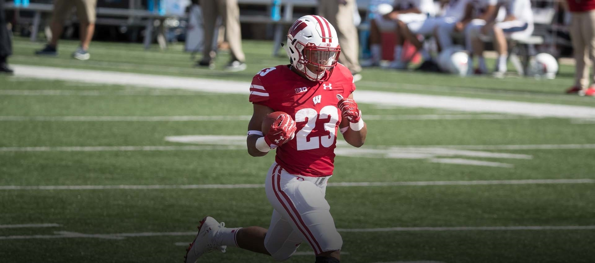 No. 10 Badgers get Jonathan Taylor-made big plays from RB