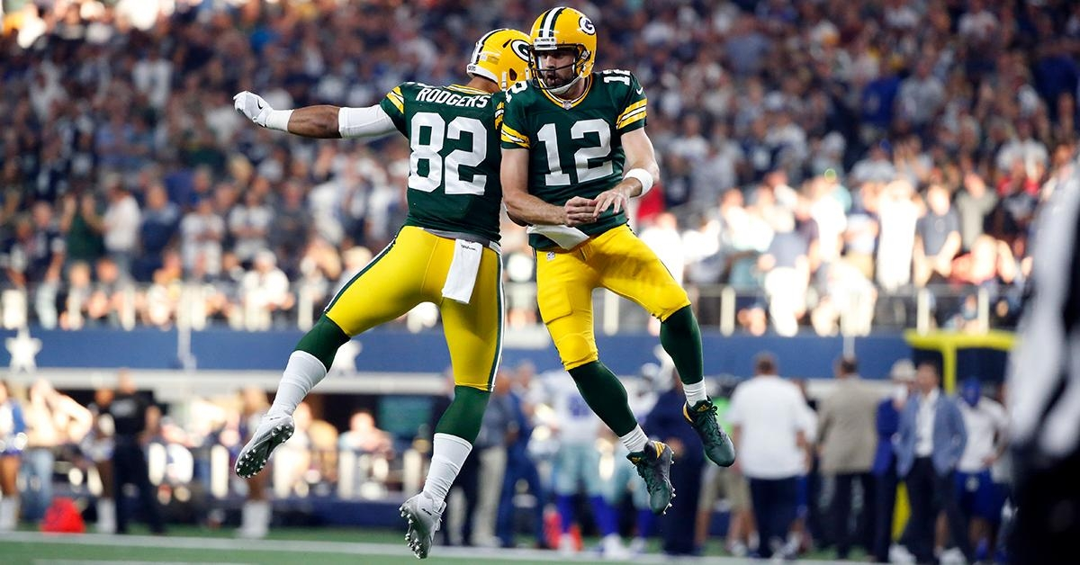 WATCH: Rodgers wins it for Packers in Dallas