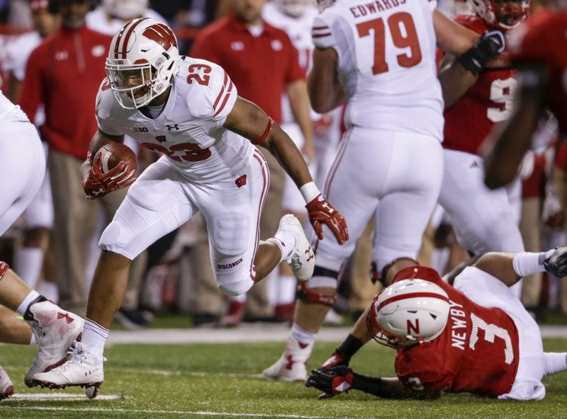 Taylor the latest star of No. 6 Wisconsin's RB assembly line