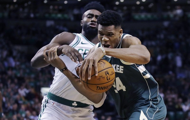Giannis carries Bucks past Celtics with 37, bring on LeBron and Cavs