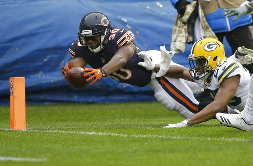 WHOOPS! Bears 'win' replay challenge, lose ball