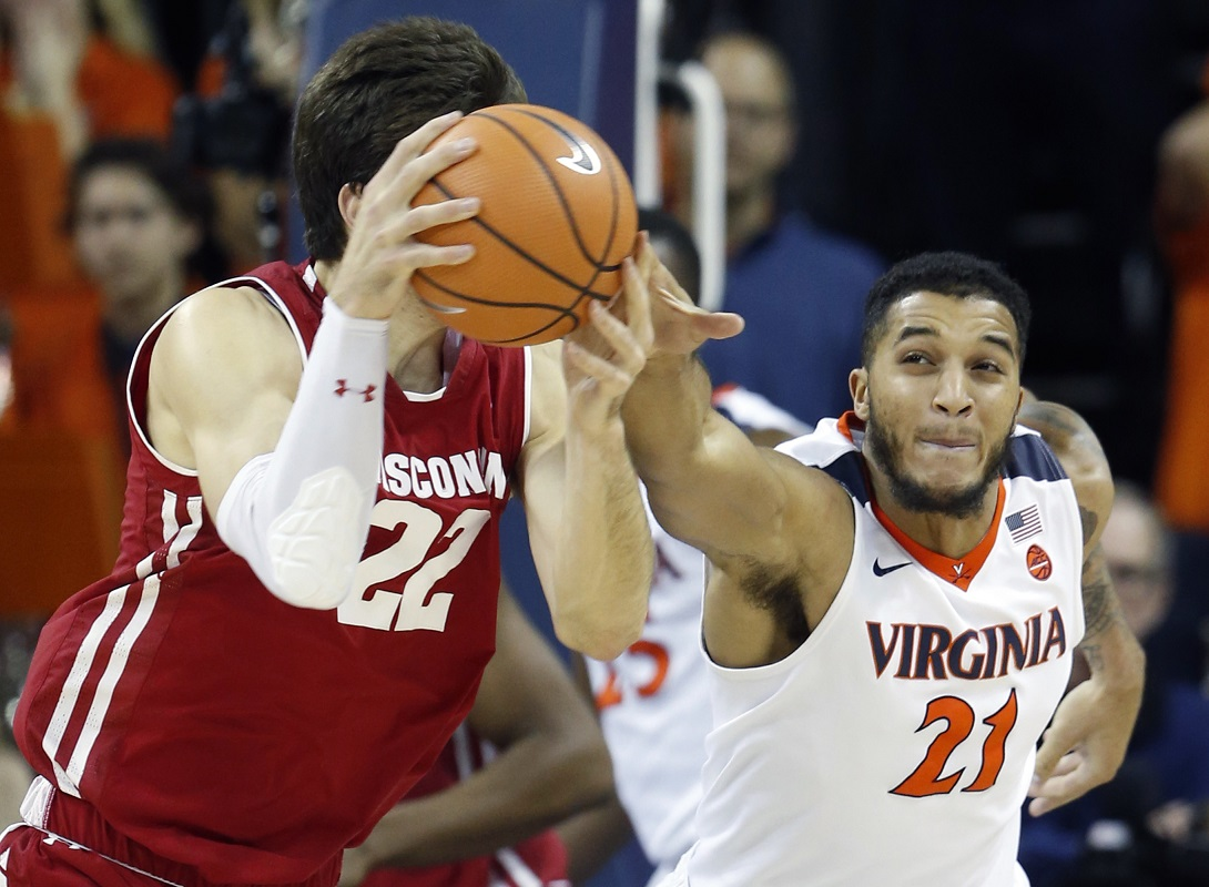 Badgers fall to 3-4, after dismal shooting against No. 18 Virginia