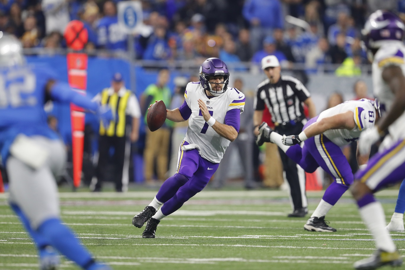 The case for Keenum: Vikings QB keeps on disproving doubters