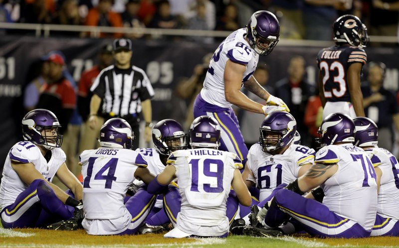 Surging Vikings avoiding any talk of NFC playoff picture