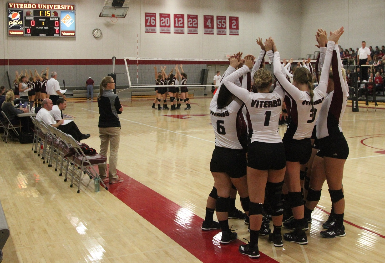 Viterbo looks for 64th consecutive home win as it hosts conference tourney