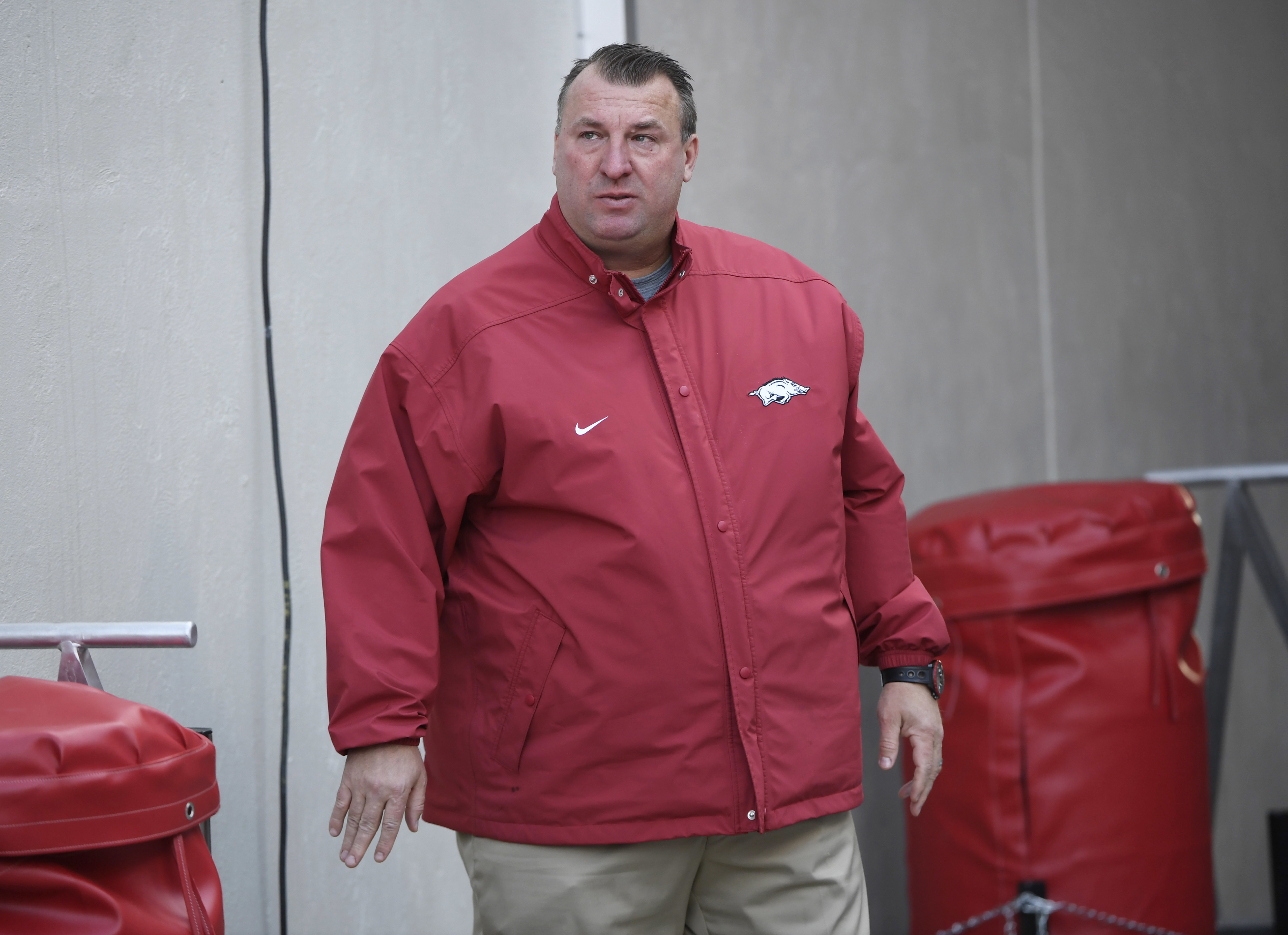 Arkansas buys out former Badgers coach Bret Bielema for $15.4 million