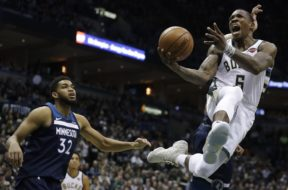 Timberwolves Bucks Basketball