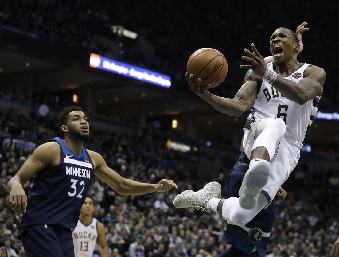 Bucks rally from 20 down, take out Timberwolves