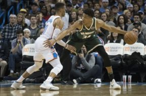 Giannis Antetokounmpo, Russell Westbrook