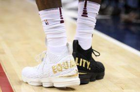 LeBron James shoes equality