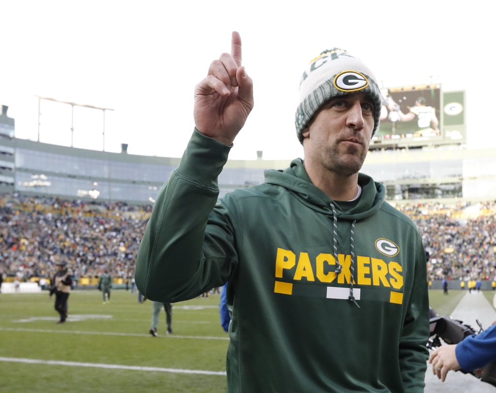 "Rodgers announces he's ""medically cleared"" to return, starting vs. Carolina"