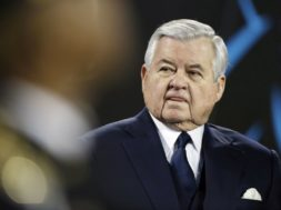 Panthers owner Jerry Richardson AP