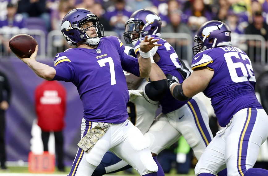 Who Will Be Next Years Quarterback For The Vikings?