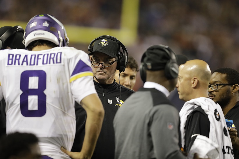 Vikings QB Sam Bradford could return to practice next week