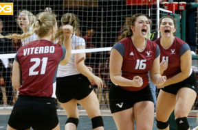 Viterbo Volleyball to Elite Eight