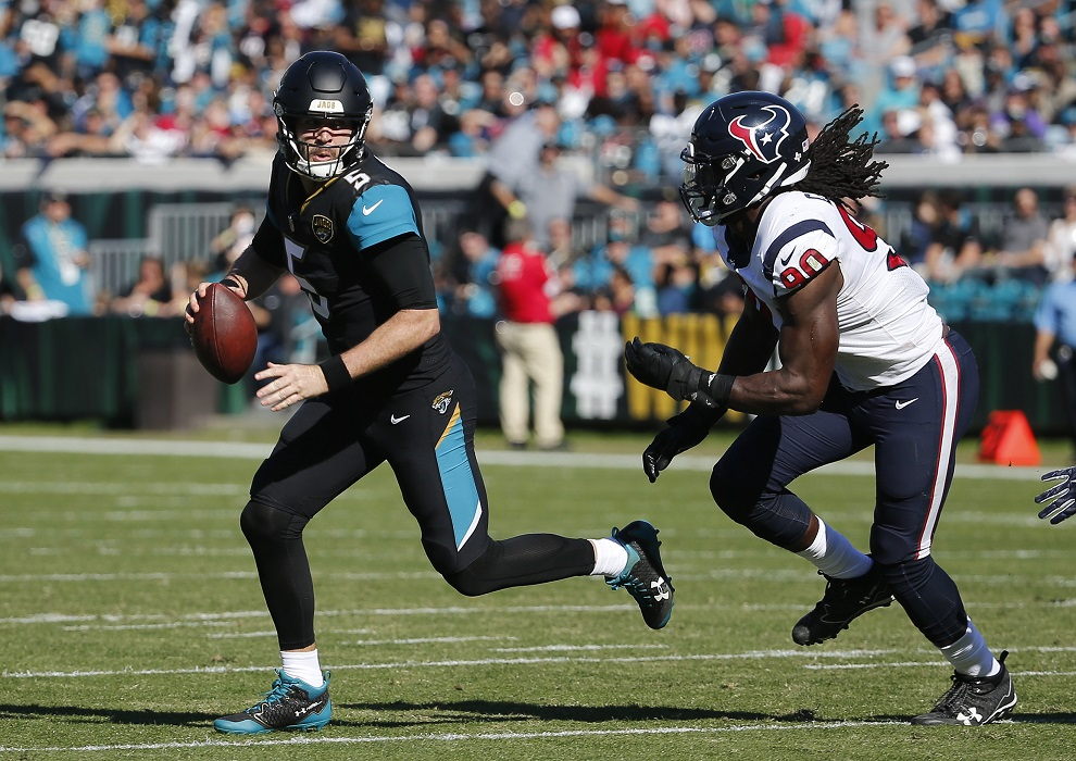 Jaguars QB Bortles says criticism will 'probably never stop'