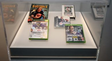 """Madden NFL: 25 Years and Running"" at the Museum of the Moving Image"