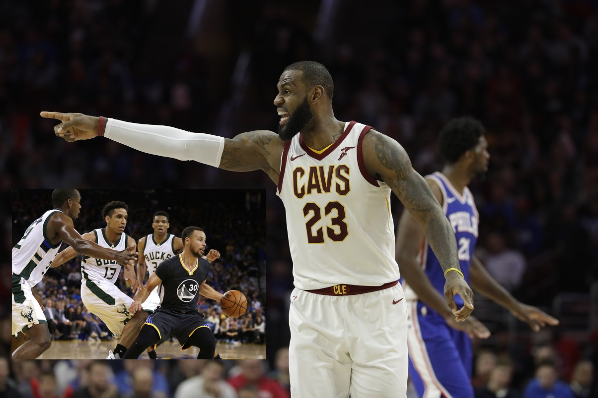 LeBron, Curry are captains, to draft NBA All-Star Game teams