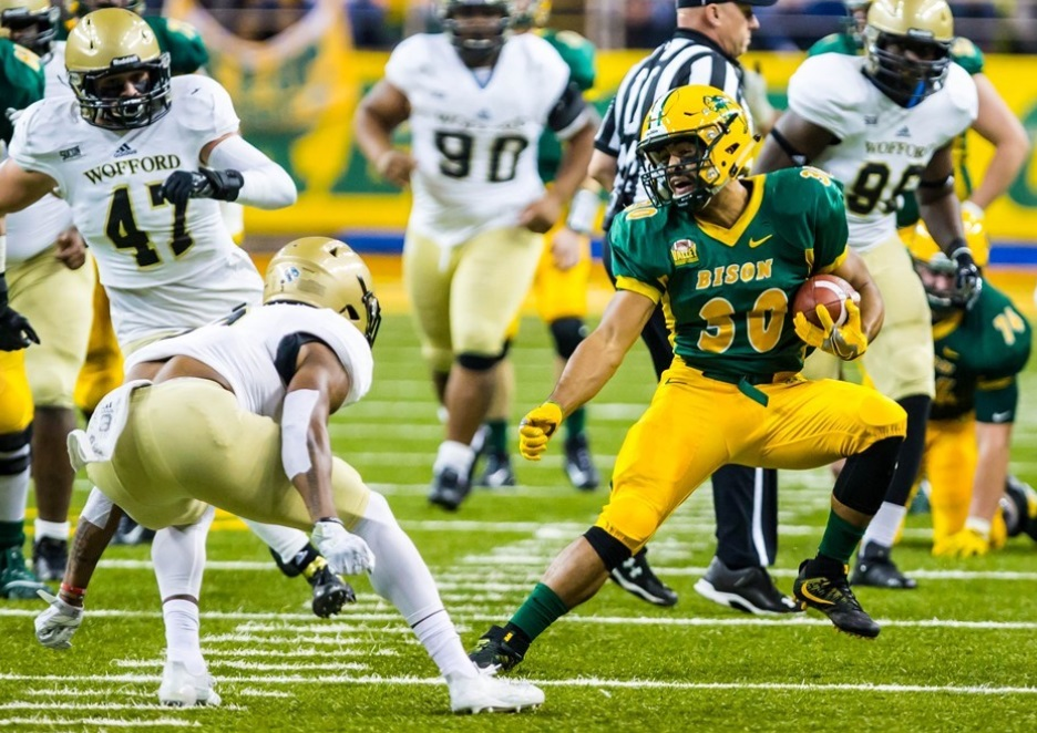 Holmen's Wilson steps into bigger role for NDSU in National Championship