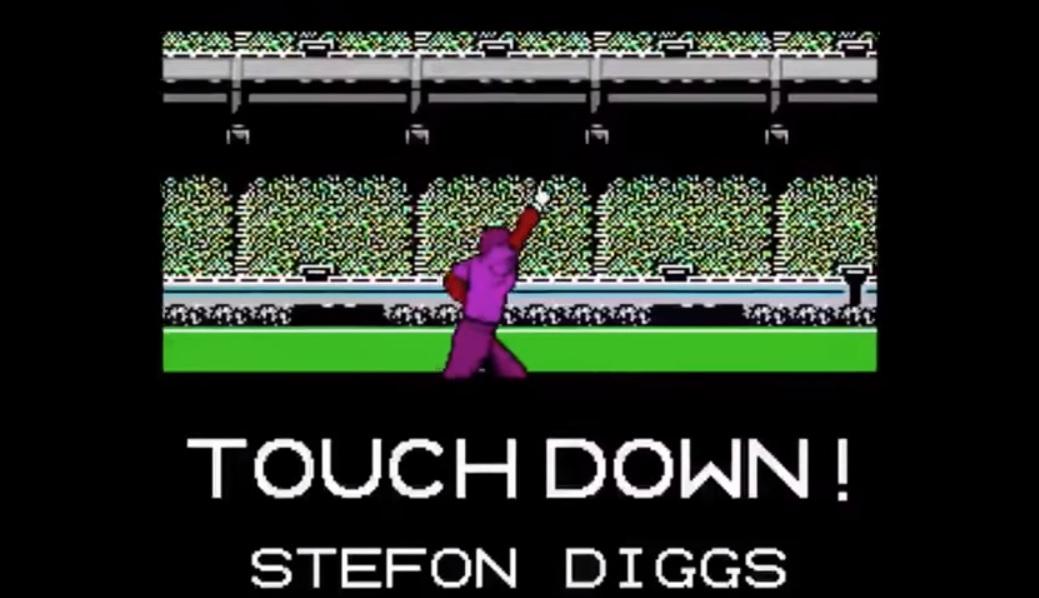 A Tecmo Bowl Minneapolis Miracle