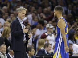 Steve Kerr, Stephen Curry