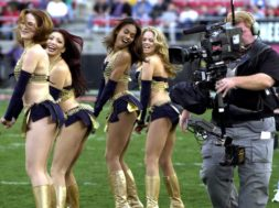 XFL cheerleaders