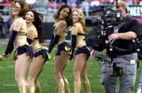 XFL cheerleaders
