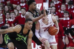 Badgers Ethan Happ Michigan St AP
