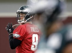 Eagles Nick Foles AP