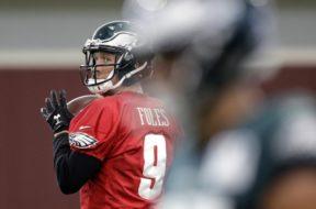 Eagles Nick Foles AP