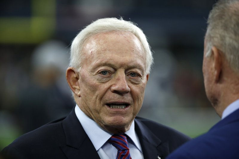 Source: NFL seeking $2M from Jerry Jones over legal spats